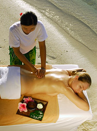 Sun Spa at Vilu Reef Beach and Spa Resort